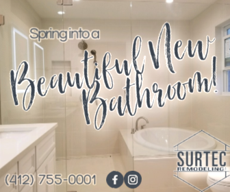 Surtec Remodeling proudly serves the Pittsburgh, PA area with a focus on the North Boroughs communities.